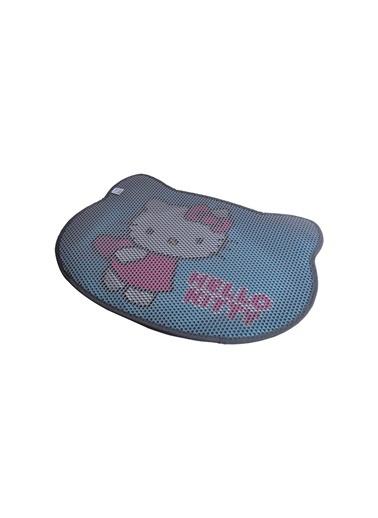 Hello Kitty HELLO KITTY ÇİFT KATMANLI KEDİ KUMU  PASPASI KEDİ 01 Gri